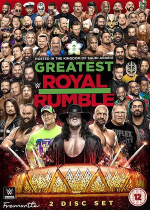 WWE: Greatest Royal Rumble Online DVD Rental