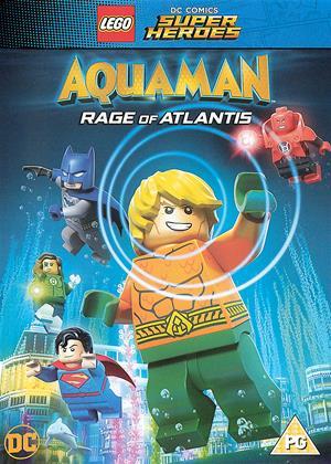 Rent Lego DC Comics Super Heroes: Aquaman: Rage of Atlantis Online DVD & Blu-ray Rental