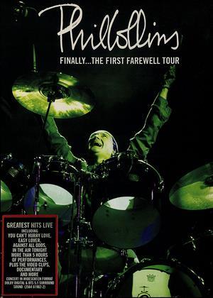 Phil Collins: Finally: The First Final Farewell Tour Online DVD Rental