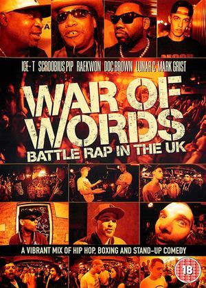Rent War of Words: Battle Rap in the UK Online DVD & Blu-ray Rental