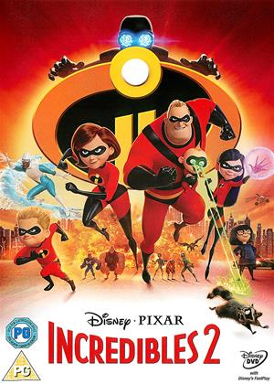Incredibles 2 Online DVD Rental