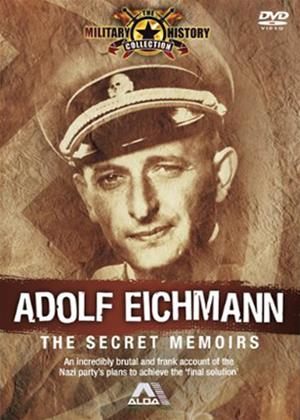 Rent Adolf Eichmann: The Secret Memoirs (aka Eichman's Secret Diaries) Online DVD & Blu-ray Rental