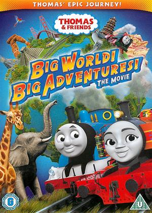 Rent Thomas and Friends: Big World! Big Adventures!: The Movie (aka Thomas, Big World! Big Adventures! The Movie) Online DVD & Blu-ray Rental