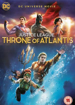 Justice League: Throne of Atlantis Online DVD Rental