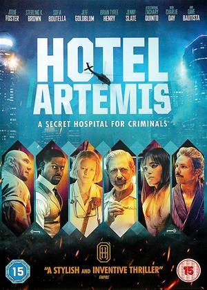 Hotel Artemis Online DVD Rental