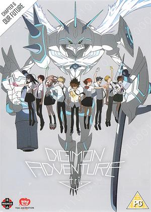 Rent Digimon Adventure Tri: Part 6: Our Future (aka Digimon Adventure Tri. 6 / Dejimon Adobenchâ Torai 6: Bokura no Mirai) Online DVD Rental