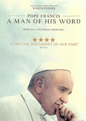 Pope Francis: A Man of His Word Online DVD Rental