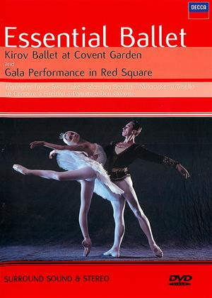 Rent The Kirov Ballet: Essential Ballet (aka Essential Ballet: Kirov Ballet at Covent Garden / Gala Performance from Red Square, Moscow) Online DVD & Blu-ray Rental