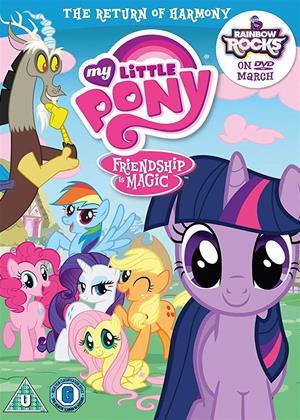Rent My Little Pony: The Return of Harmony Online DVD & Blu-ray Rental