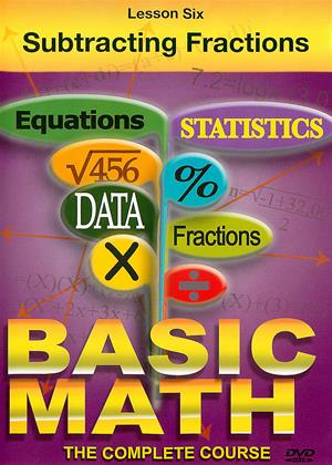 Rent Basic Maths: Subtracting Fractions Online DVD & Blu-ray Rental