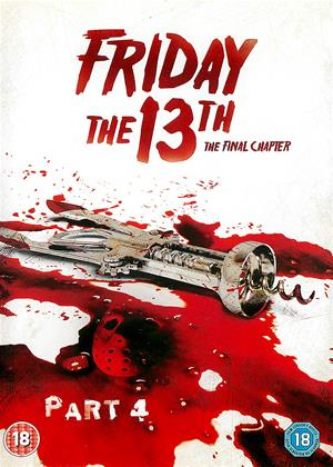 Rent Friday the 13th: The Final Chapter (aka Friday the 13th Part 4) Online DVD & Blu-ray Rental