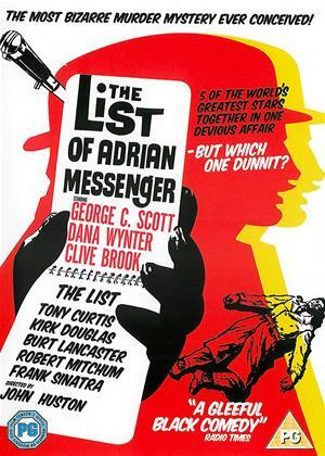 Rent The List of Adrian Messenger Online DVD & Blu-ray Rental