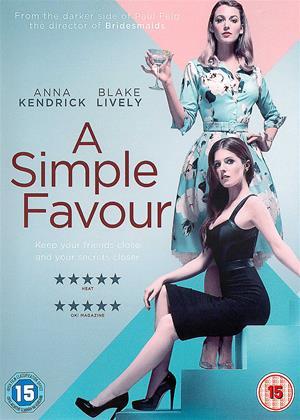 Rent A Simple Favour (aka A Simple Favor) Online DVD Rental