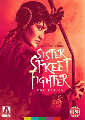 Rent Sister Street Fighter: Collection (aka Onna hissatsu ken / Onna hissatsu ken: Kiki ippatsu / Kaette kita onna hissatsu ken / Onna hissatsu godan ken) Online DVD & Blu-ray Rental