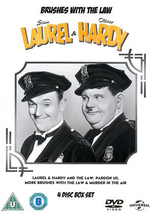 Rent Laurel and Hardy: Brushes with the Law Online DVD & Blu-ray Rental