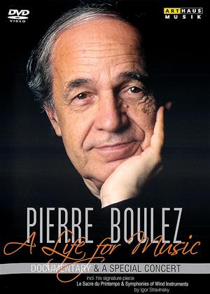Rent Pierre Boulez: A Life for Music (aka A Life for Music) Online DVD & Blu-ray Rental