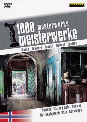 Rent 1000 Masterworks: National Gallery Oslo, Norway Online DVD Rental