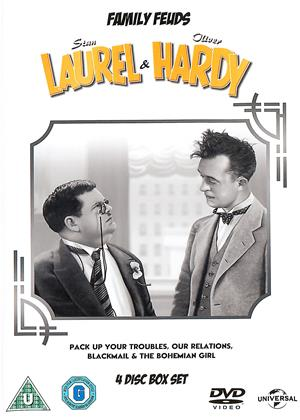 Rent Laurel and Hardy: Family Feuds Online DVD & Blu-ray Rental