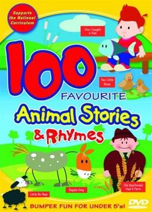 Rent 100 Favourite Animal Stories and Rhymes Online DVD & Blu-ray Rental