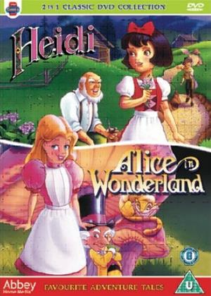 Rent Favourite Adventure Tales: Heidi / Alice in Wonderland Online DVD & Blu-ray Rental