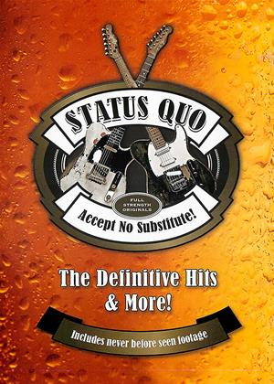 Rent Status Quo: The Definitive Hits and More! (aka Status Quo: Accept No Substitute: The Definitive Hits) Online DVD & Blu-ray Rental