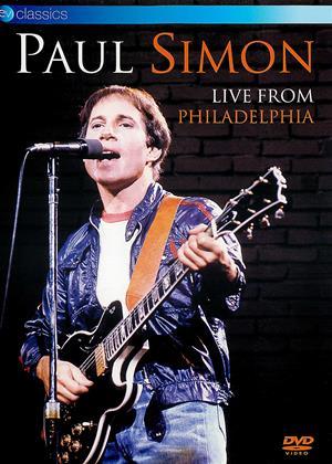 Rent Paul Simon: Live from Philadelphia (aka Paul Simon: Live at the Tower Theatre 1980) Online DVD & Blu-ray Rental