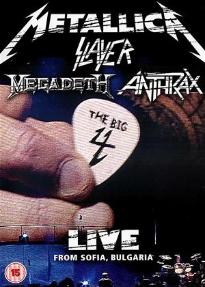 Metallica, Slayer, Megadeth, Anthrax: Live from Sofia: Bulgaria Online DVD Rental
