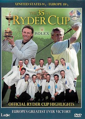 Rent Ryder Cup 2004: The 35th Ryder Cup Online DVD & Blu-ray Rental