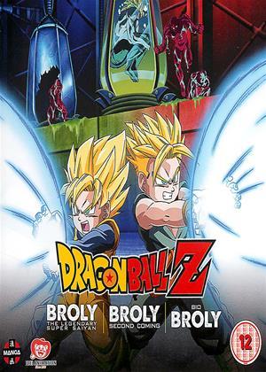 Rent Dragon Ball Z: The Broly Trilogy Online DVD & Blu-ray Rental
