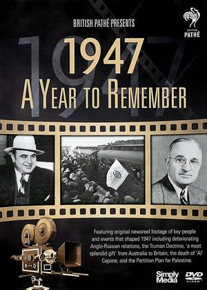 Rent A Year to Remember: 1947 Online DVD Rental