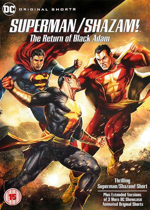 Superman/Shazam!: The Return of Black Adam Online DVD Rental