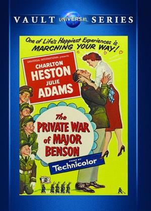 Rent The Private War of Major Benson Online DVD & Blu-ray Rental