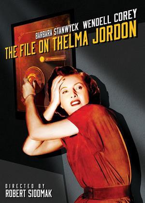 Rent The File on Thelma Jordon Online DVD & Blu-ray Rental