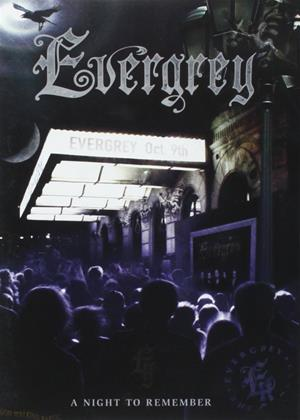 Rent Evergrey: A Night to Remember Online DVD & Blu-ray Rental