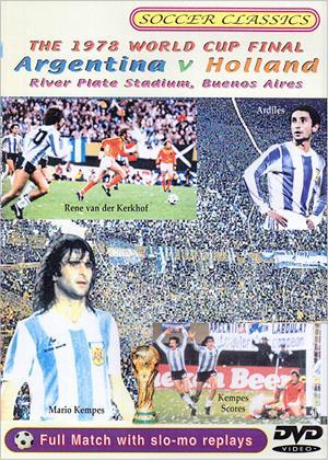 Rent Argentina vs. Holland 1978 World Cup Final Online DVD & Blu-ray Rental