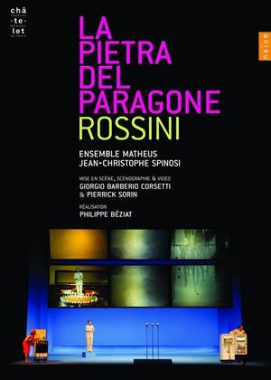 Rent La Pietra Del Paragone: Ensemble Matheus (Jean-Christophe Spinosi) Online DVD & Blu-ray Rental
