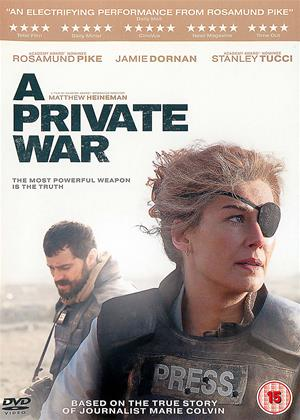 Rent A Private War (aka Marie Colvin) Online DVD & Blu-ray Rental