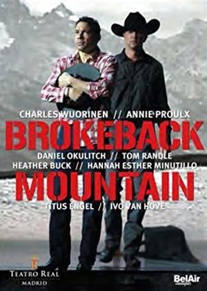 Rent Brokeback Mountain: Teatro Real De Madrid (Titus Engel) Online DVD & Blu-ray Rental