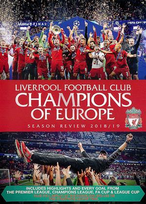 Rent Liverpool Football Club: Champions of Europe: Season Review 2018/19 Online DVD & Blu-ray Rental