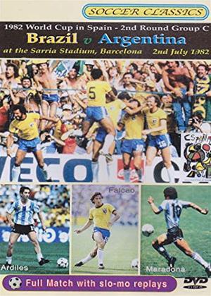 Rent World Cup 1982: Brazil V Argentina Online DVD & Blu-ray Rental