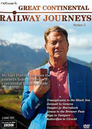 Rent Great Continental Railway Journeys: Series 5 Online DVD & Blu-ray Rental