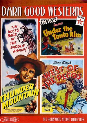 Rent Darn Good Westerns: Collection 4 (aka Thunder Mountain / Under the Tonto Rim / West of Pecos) Online DVD & Blu-ray Rental