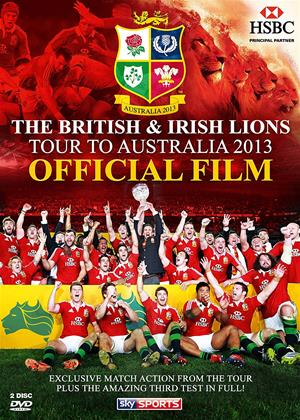 Rent British and Irish Lions: Australia 2013: Official Film Online DVD & Blu-ray Rental