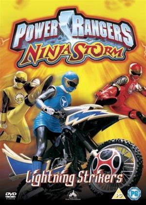 Rent Power Rangers Ninja Storm: Lightning Strikers Online DVD & Blu-ray Rental