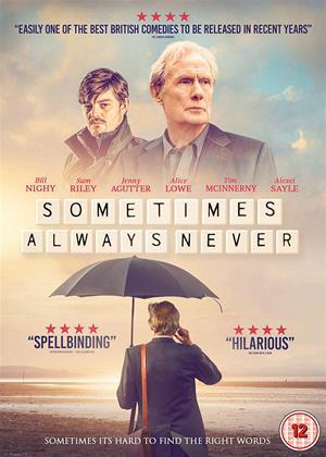 Rent Sometimes Always Never (aka Triple Word Score) Online DVD & Blu-ray Rental