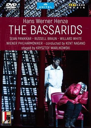 Rent Hans Werner Henze: The Bassarids: Wiener Philharmoniker (Kent Nagano) Online DVD & Blu-ray Rental