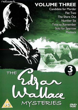 Rent The Edgar Wallace Mysteries: Vol.3 Online DVD & Blu-ray Rental