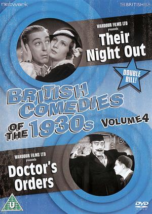 Rent British Comedies of the 1930's: Vol.4 (aka Their Night Out (1933) / Doctor's Orders (1934)) Online DVD & Blu-ray Rental