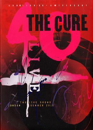 Rent The Cure: 40 Live Curaetion 25 / Anniversary (aka The Cure: Anniversary 1978-2018: Live in Hyde Park / Curaetion 25) Online DVD & Blu-ray Rental