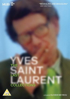 Rent Yves Saint Laurent: The Last Collections (aka Celebration) Online DVD & Blu-ray Rental